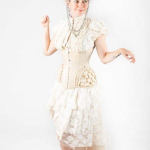 Colonial / Vampire / Marie Antoinette / masquerade / steampunk – inspired costume