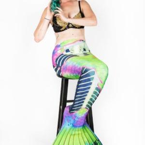 zombie mermaid tail