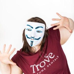 Guy Fawkes LED Light Mask