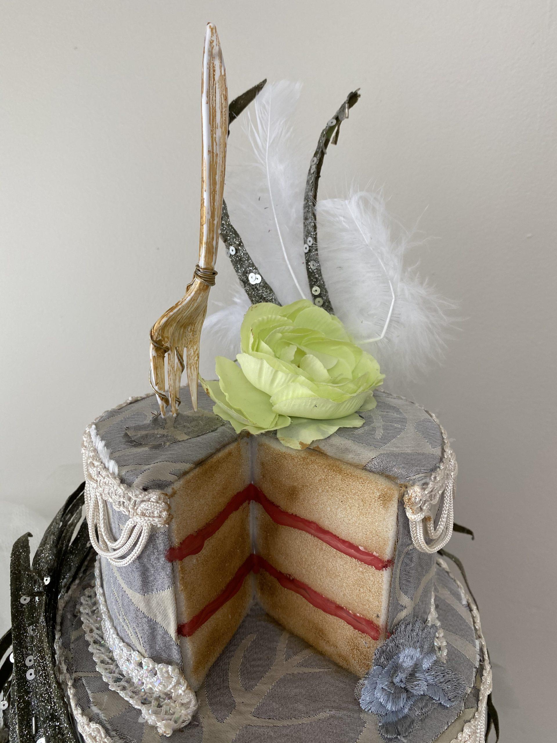 """Let them eat cake!"" – Tri-corner hat"