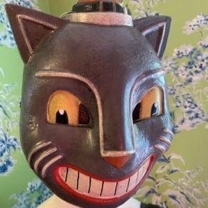 Vintage-style cat mask