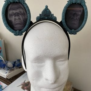 Holographic Haunted Mansion Mickey Mouse Ears: Disney