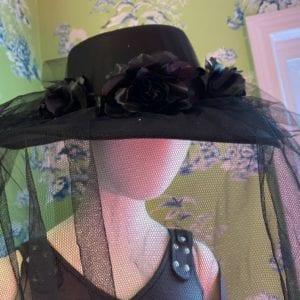Sugar skull/funeral hat
