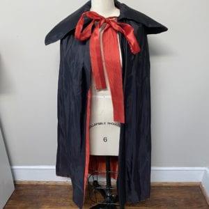Black Dracula cape