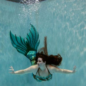 Ariel Green Finfolk Mythic Mermaid Tail