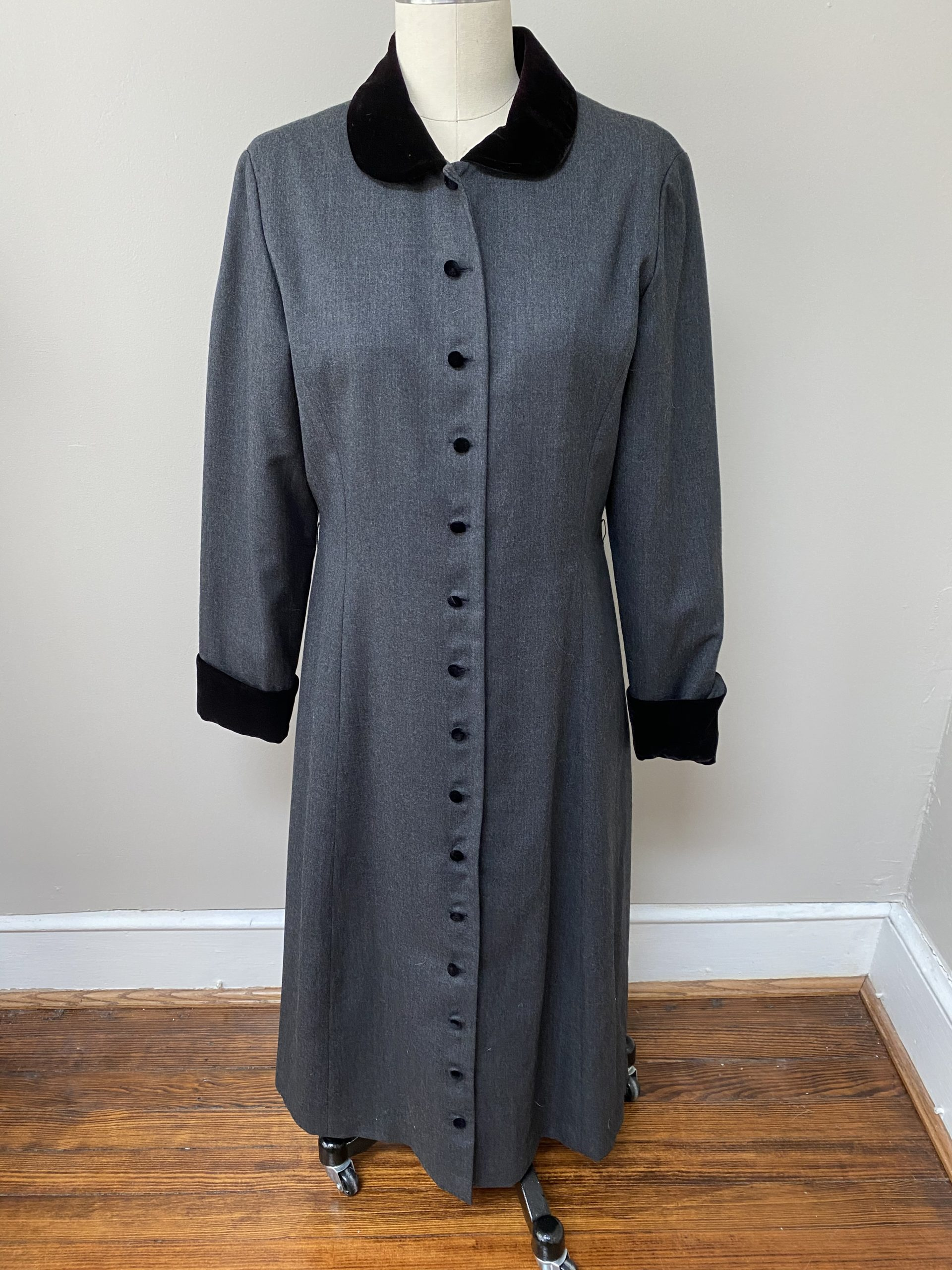 Wednesday Addams / Mary Poppins / Victorian coat