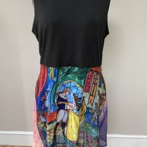 Beauty and the Beast Disneybound dress