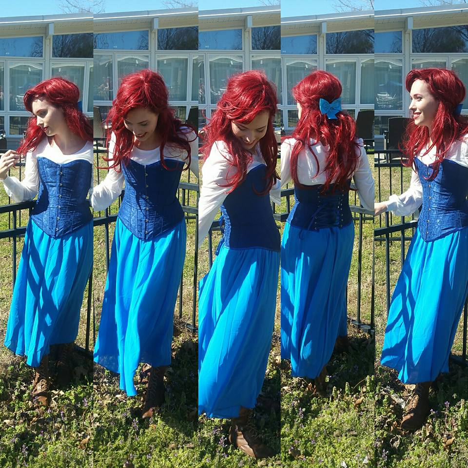 Ariel town outfit