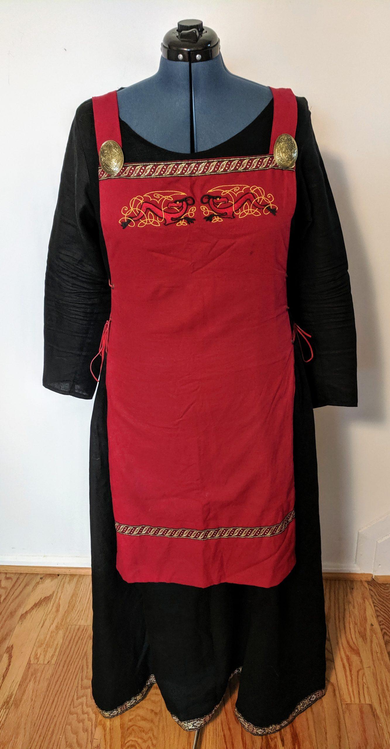 Viking/Medieval Apron Dress (L-XL)