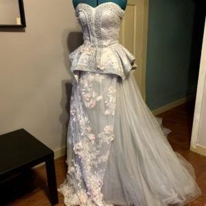 Blue Flower Gown