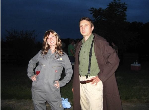Kaylee Jumpsuit and Parasol, from Firefly