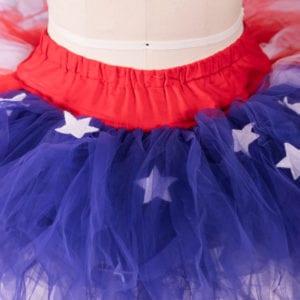Star Spangled Tutu: American Flag