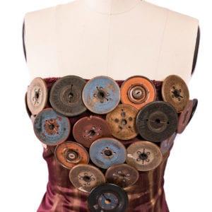 Button corset