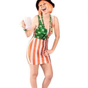 Saint Patrick's Day American Flag dress