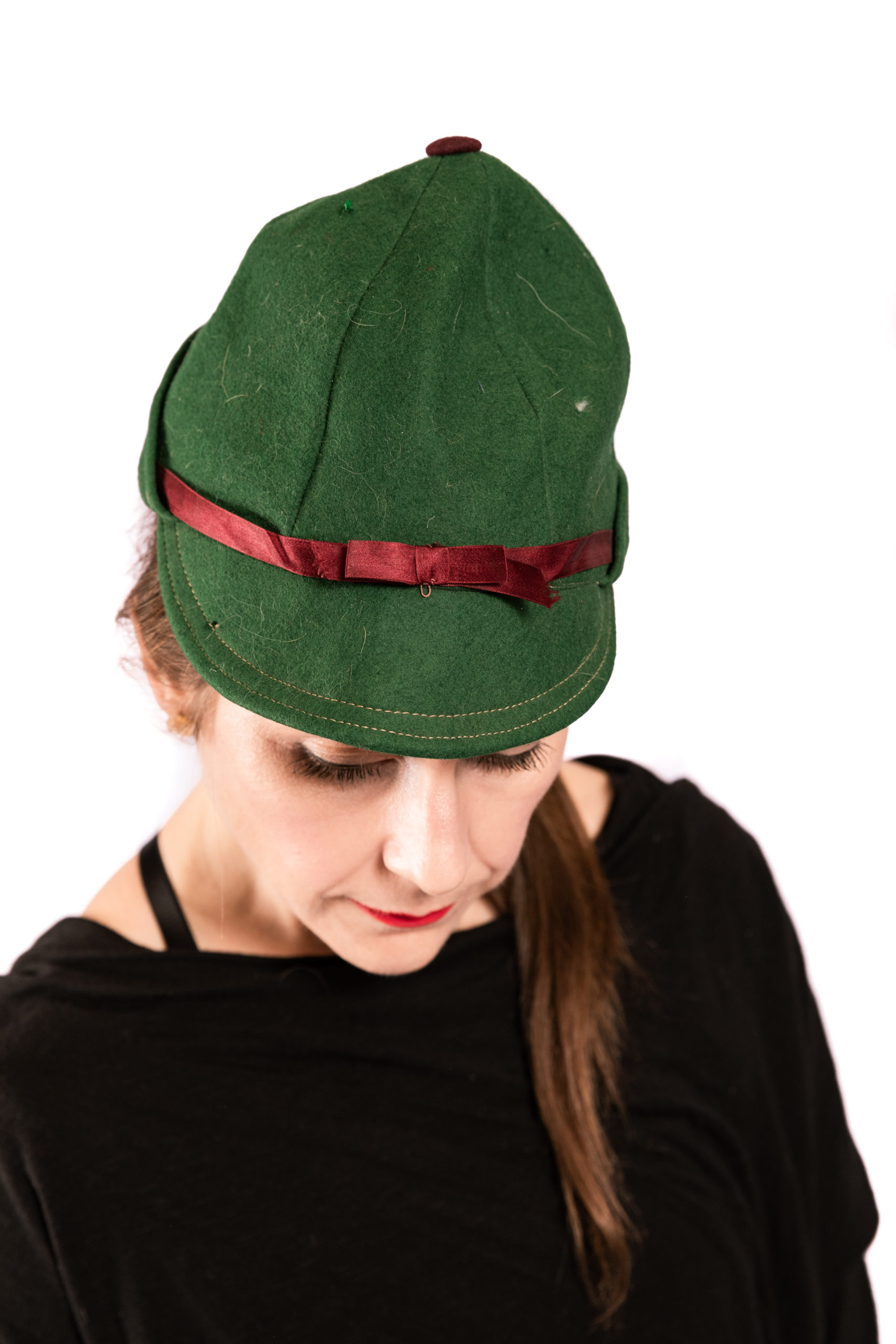 Vintage Peter Pan / Sherlock Holmes Hat