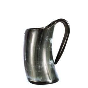 black antler mug