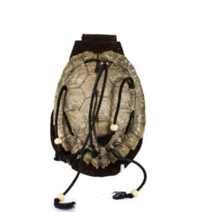 Turtle shell pouch