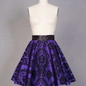 Disney's Haunted Mansion wall paper skirt