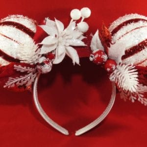 Christmas Mickey Mouse Ears