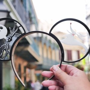 Nightmare Before Christmas Disney Mickey Mouse Ears