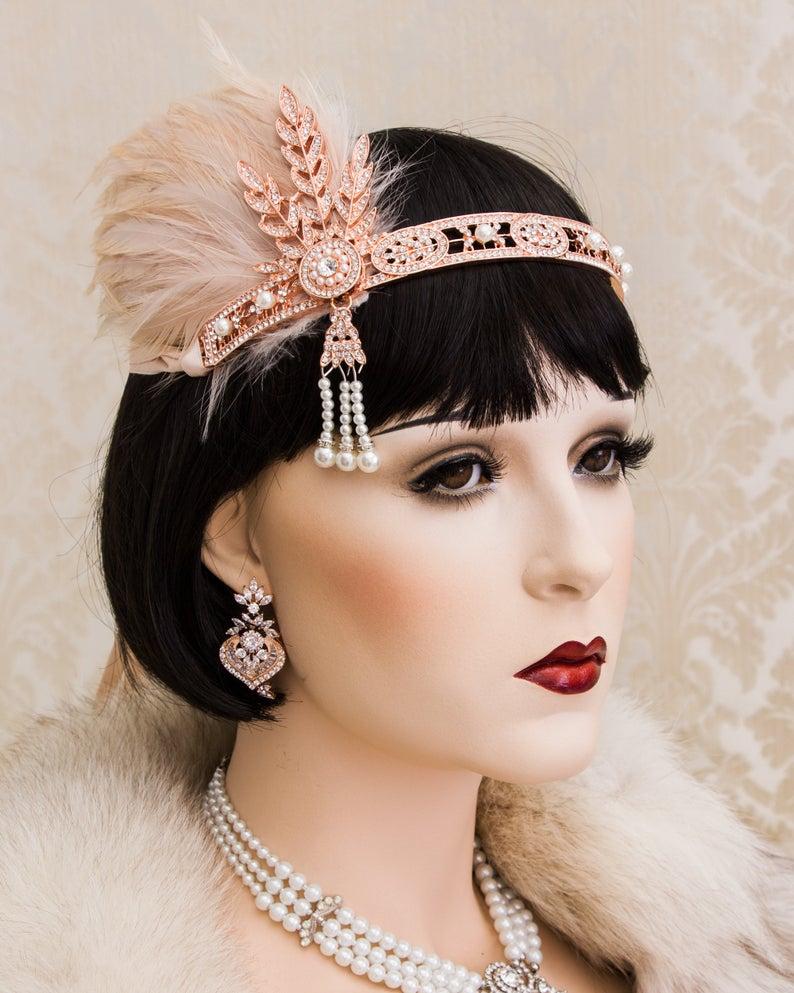 1920's headband