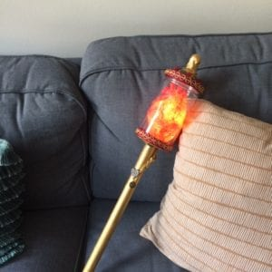 Steampunk Queen of Hearts Scepter