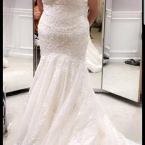Mermaid wedding dress -could be crafted into a mermaid fairydress or something simular.