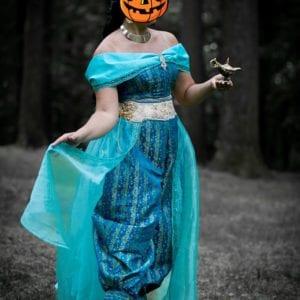 Princess Jasmine Inspired Costume Set