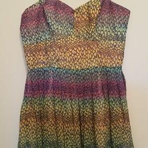 Rainbow Mermaid/Dragon Dress