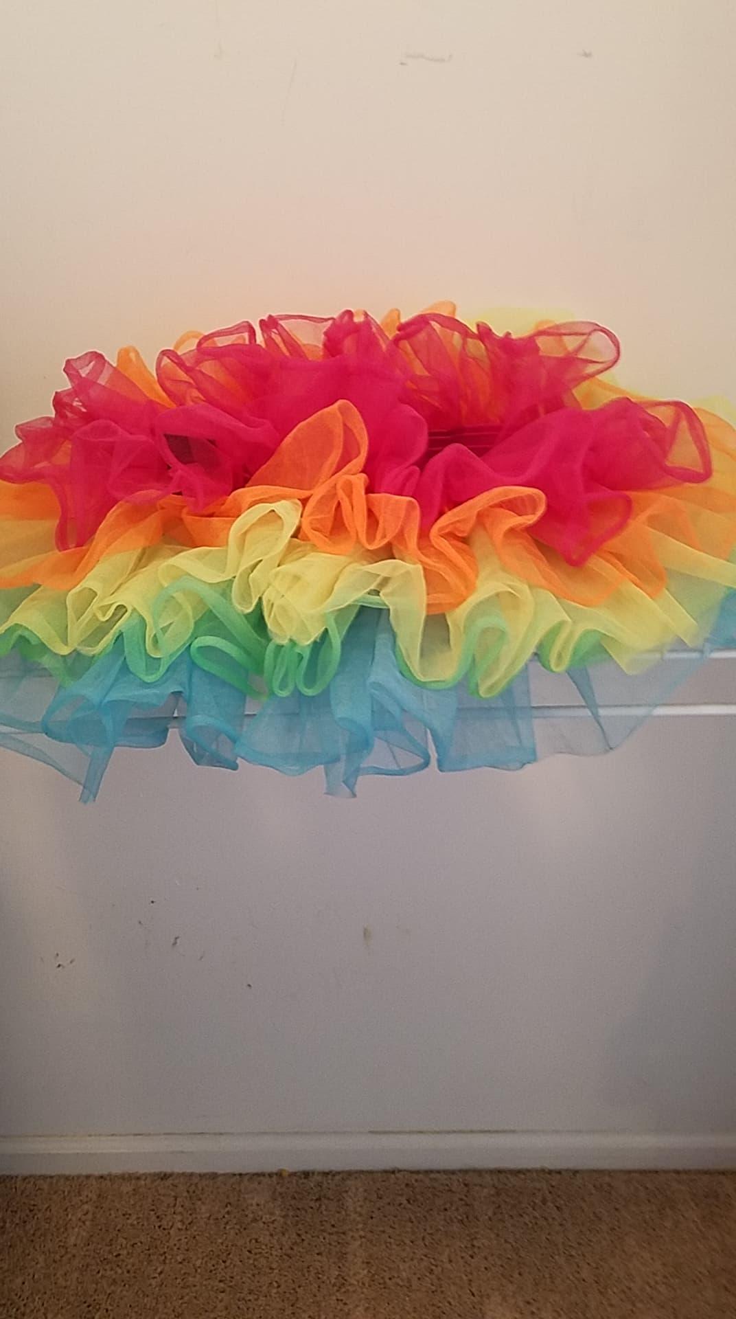 Pride Rainbow Flared Tutu