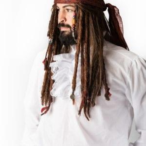 Jack Sparrow – Pirate Wig